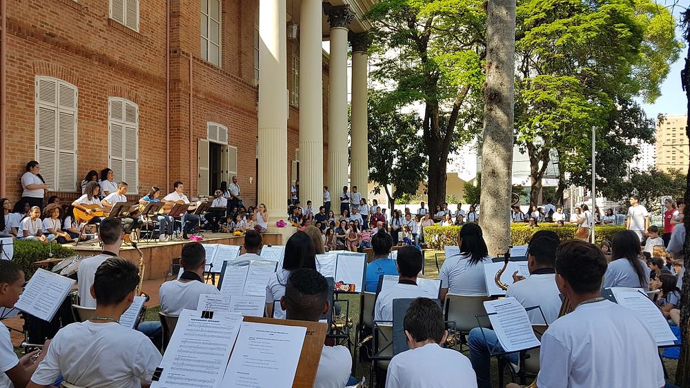 No dia 23, às 15h, haverá apresentação Musical do Instituto Formar - Crédito: Divulgação