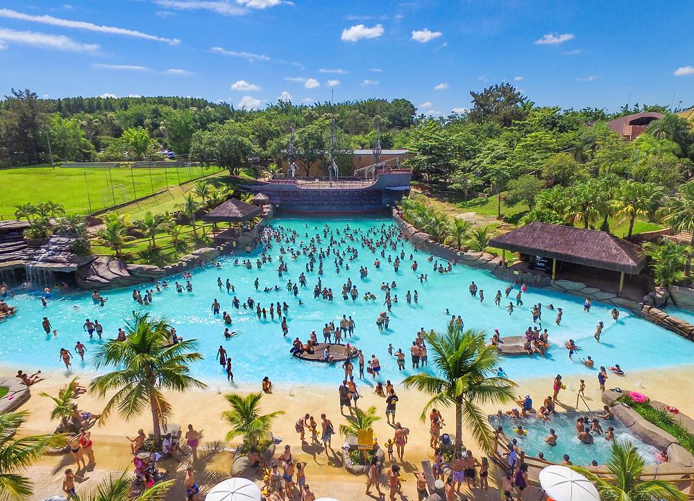Thermas Park está localizado na estância de São Pedro (SP) - Crédito: Divulgação