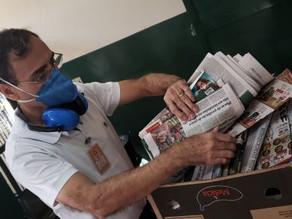 Campanha arrecada jornais para Canil e Gatil do Centro de Controle de Zoonoses