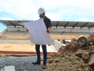 Reconstrução do Complexo Aquático Municipal deve ser concluída até no início de maio