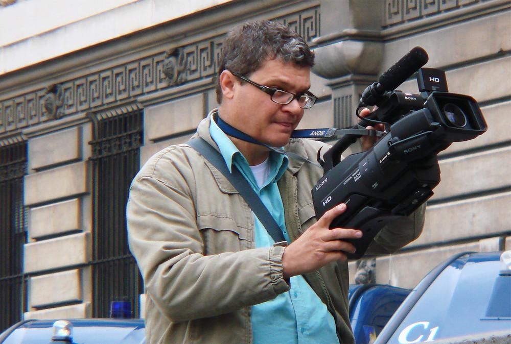 Lauro Pinotti é o autor do projeto cultural sobre cinema - Crédito: Sara Pinotti