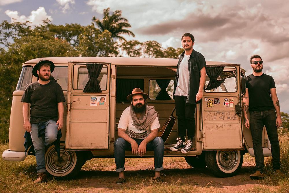 Beeguas está entre as bandas que agitam o festival - Crédito: Gabriel Albertin