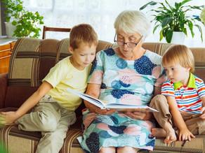 Comunicação entre avós e netos auxilia no desenvolvimento intelectual das crianças