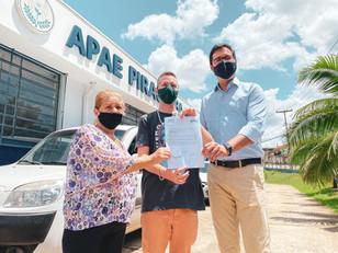 Apae Piracicaba receberá R$ 70 mil de emenda do deputado Alex de Madureira