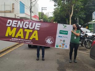 Avenida São Paulo receberá passeata para conscientização sobre combate à dengue