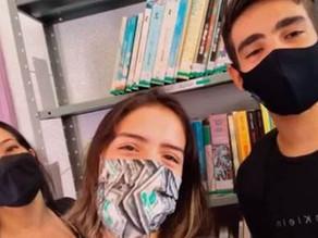 Projeto Biblioteca Ativa agrega comunidade escolar em tempos de pandemia