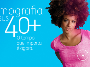 Pfizer reforça campanha pela mamografia no SUS a partir dos 40 anos
