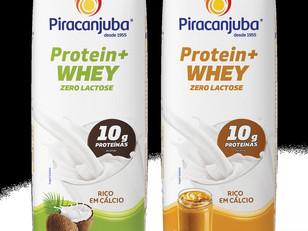 Protein + Whey é a novidade da Piracanjuba para incrementar a ingestão diária de proteína