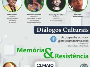 Live da Prefeitura de Piracicaba debate mazelas da escravidão, na quinta-feira (13)