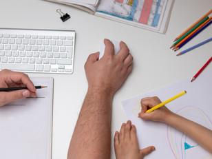 Saiba como conciliar a rotina das crianças e o home office na quarentena