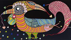 15ª Bienal Naïfs do Brasil, em cartaz no Sesc Piracicaba, reúne produção de mais de 100 artistas