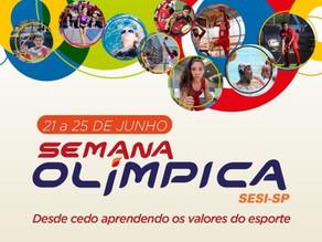 Sesi-SP e Comitê Olímpico do Brasil se unem para realização do evento Semana Olímpica