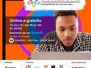 On-line: I Congresso Nacional de Empreendedorismo e Empregabilidade da Juventude Negra