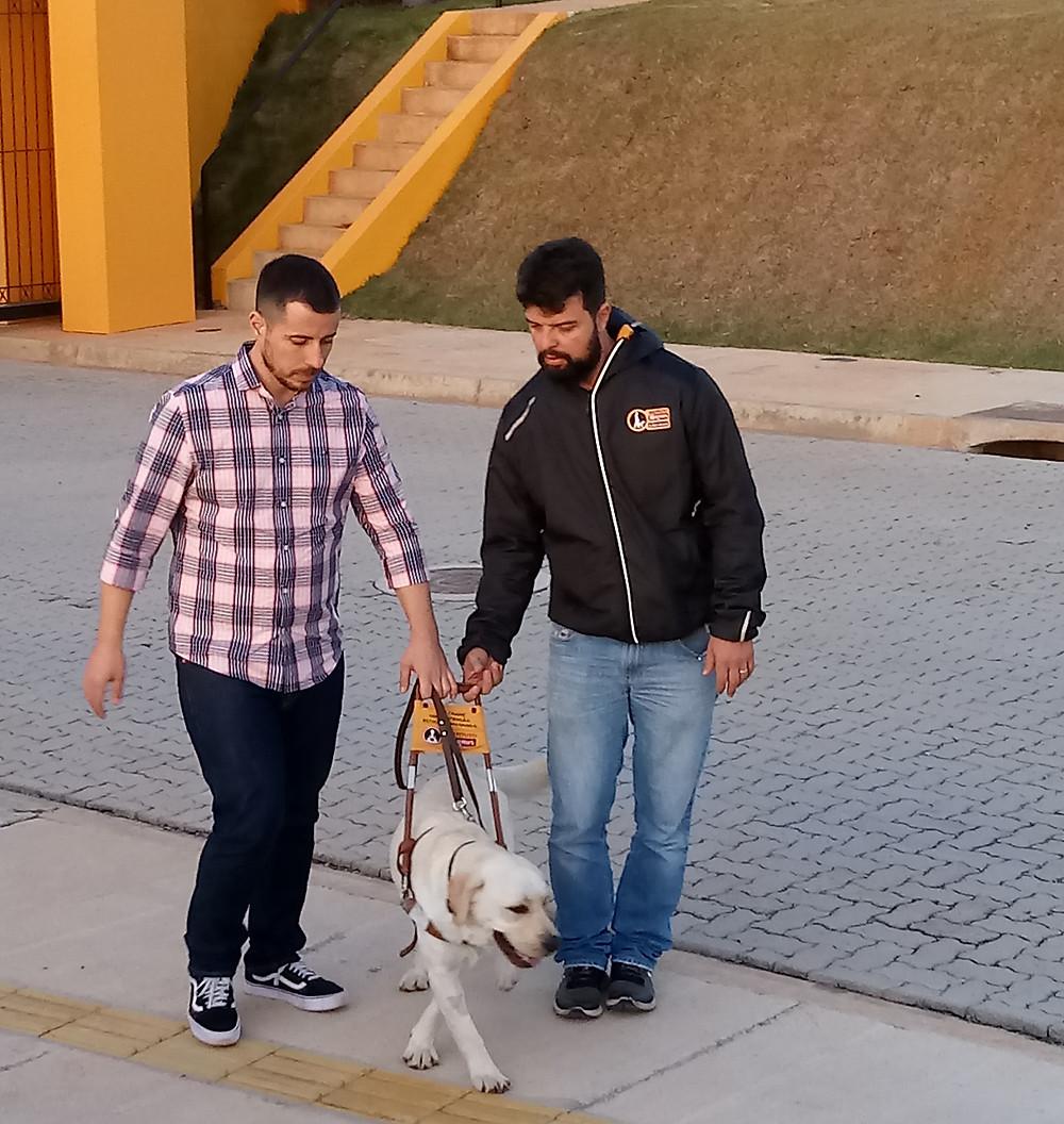 Thiago Bornia, durante treinamento com Xarife (Crédito: Eliana Teixeira)