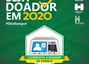 Hemonúcleo promove a CampanhaSeja Doador em 2020 #Doesangue