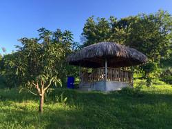 Nipa Hut on Farm: Location for Lunch