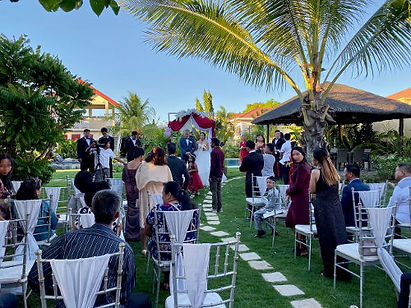 Exchange of wedding vows