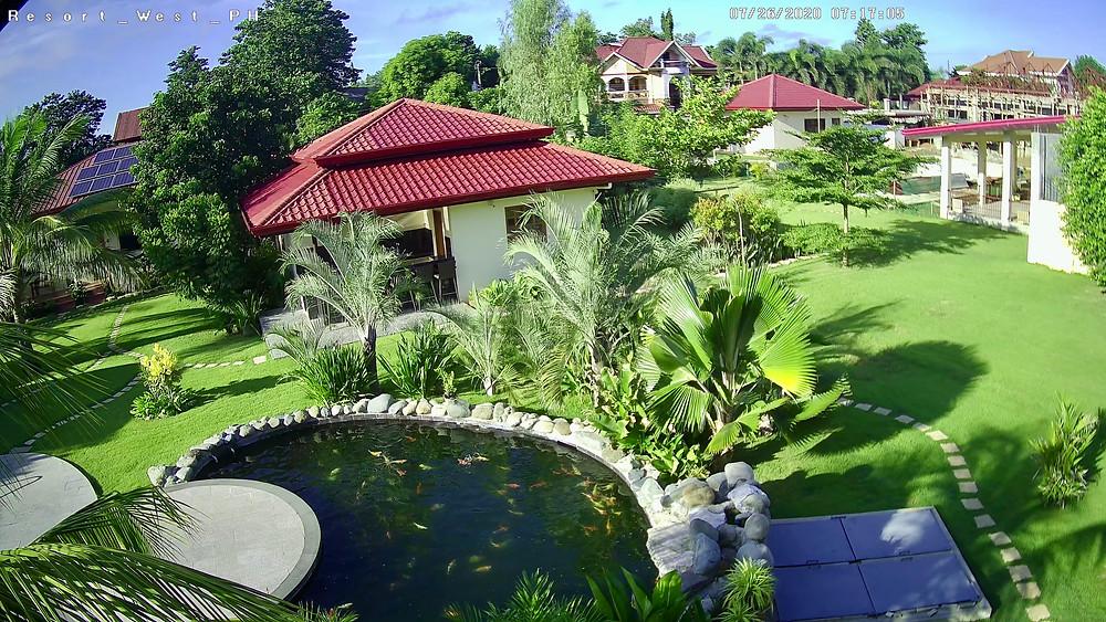 Gardens in Strutz Art Garden Resort