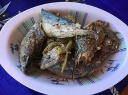 Ginataang Isda - Fish cooked in coconut milk