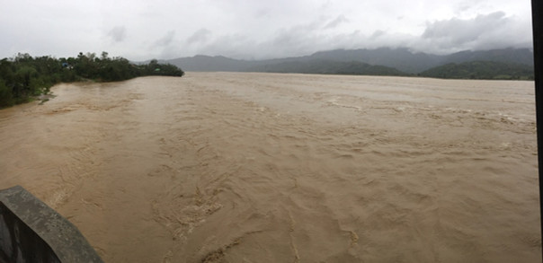 Calaba River after Typhoon