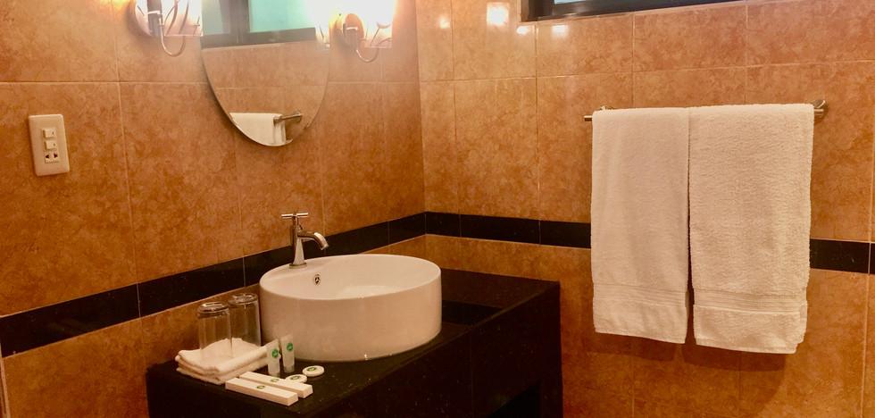 Bathroom of the Resort Bungalow