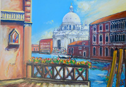 Venice (Theo Strutz, oil painting) in St