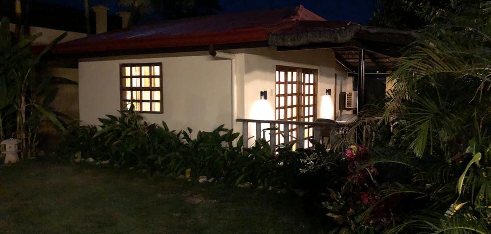 Resort Bungalow by night