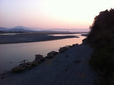 Sun Rise at Calaba River