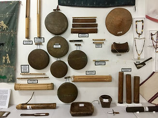 Tinguian gongs, flutes and other objects