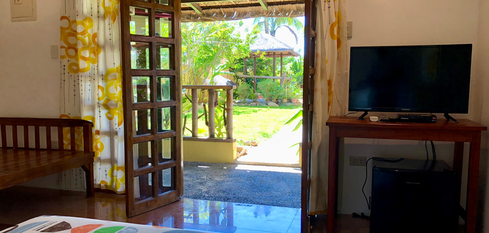 Resort Bungalow from inside