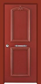 דלתות כניסה בשילוב דקורציות ומסגרות