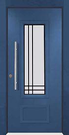 דלתות כניסה יוקרתיות בשילוב חלון מסורג