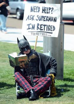 The Dark Knight Retires at Comic Con
