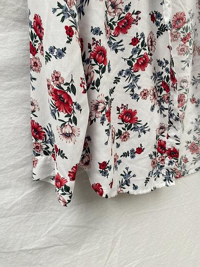 H&M Floral Button-Up