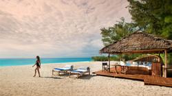Luxury Mnembe beach banda - andBeyond