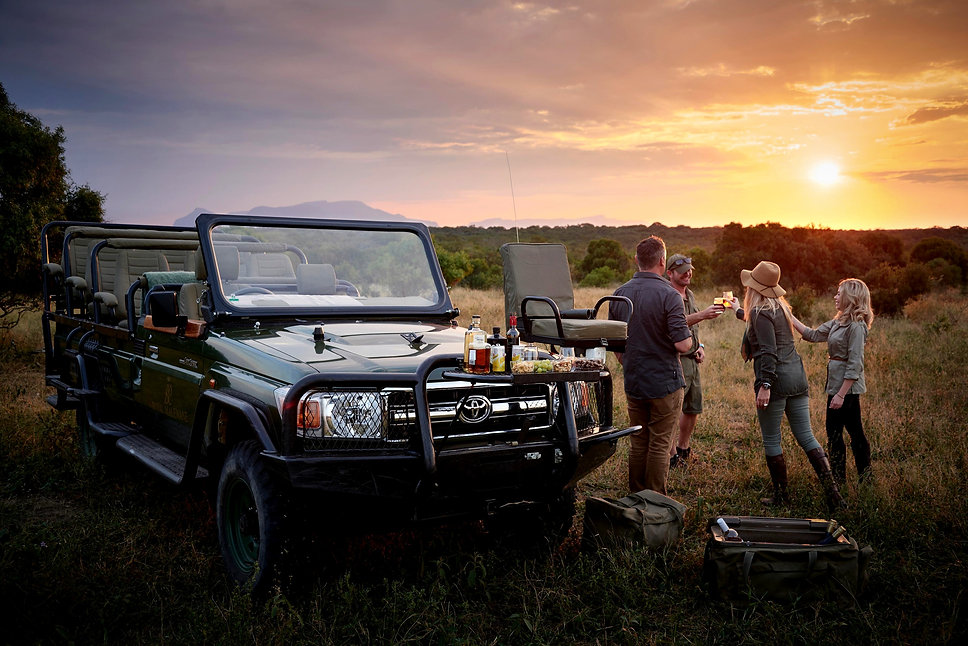 Luxury Tanzania Safari - Lunch Time
