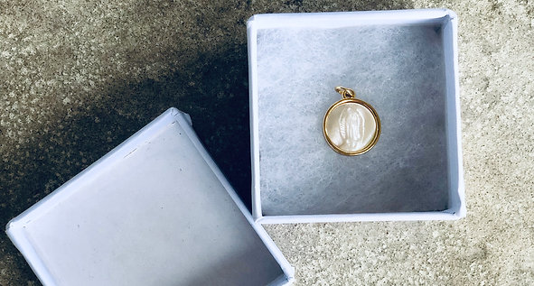 Our Lady of Guadalupe 18k Gold Filled