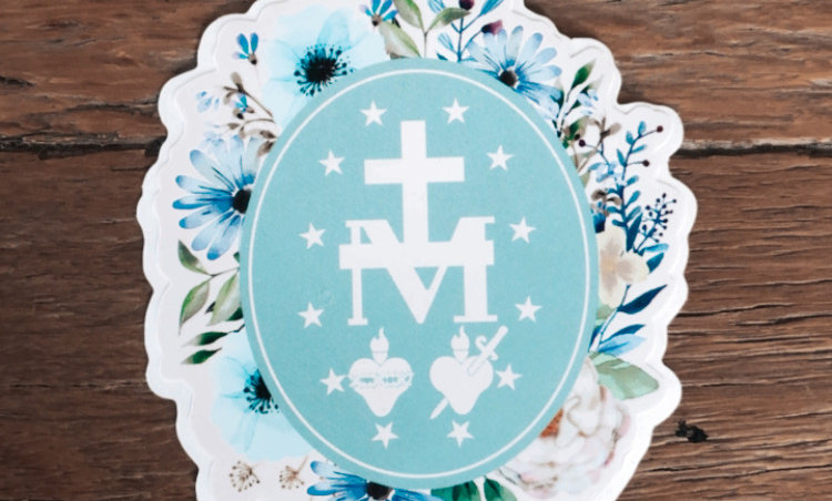 Immaculata Spring Stickers