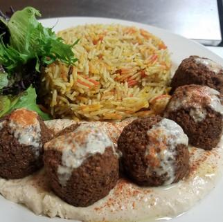 Falafel Biryani
