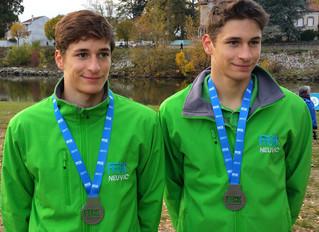 Des Neuvicois Vice-champions de France !