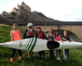 A l'assaut des vagues de la Dordogne
