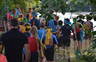 Bienvenue aux jeunes kayakistes