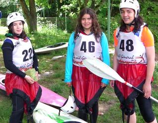 Des filles au tempérament de guerrières