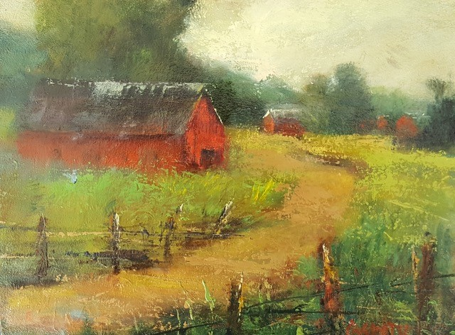 Garity, JIll-Red Barn
