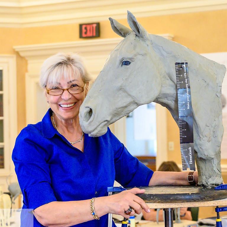 Sculpting Horses with Goksin Carey