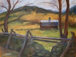 Carroll, Margaret-Old Red Barn