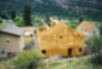 Kuboske General Contractor home under construction in Ouray, Colorado