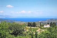 Salakos-vue panoramique dpuis l smmet du mont Prof.Ilias