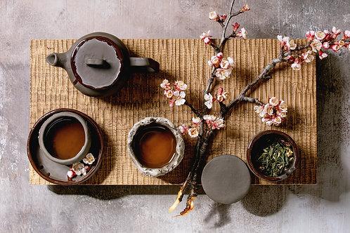 Cherry Blossom Green Tea