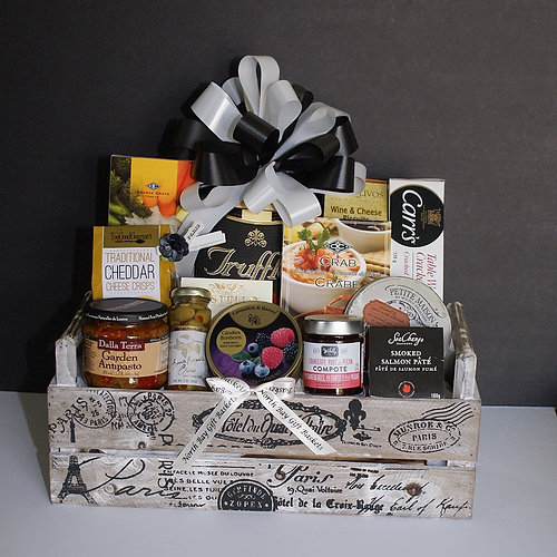 North Bay Gift Baskets | Paris Gourmet Crate Gift